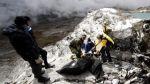 Tres fallecidos dejó caída de un helicóptero en Ayacucho - Noticias de san juan de marcona