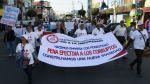 Cientos de chimbotanos marcharon en contra de la corrupción - Noticias de ezequiel nolasco