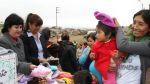 Ticlio Chico: Reclusas donaron gorros y chalinas a pobladores - Noticias de ticlio