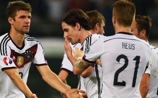 Alemania venció 2-1 a Escocia en la Clasificación a la Eurocopa