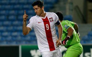 Lewandowski anotó cuatro goles en la paliza 7-0 de Polonia