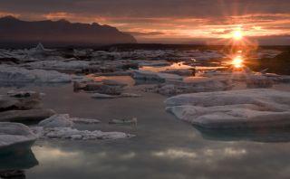 Reino de hielo: Conoce esta hermosa laguna glacial en Islandia