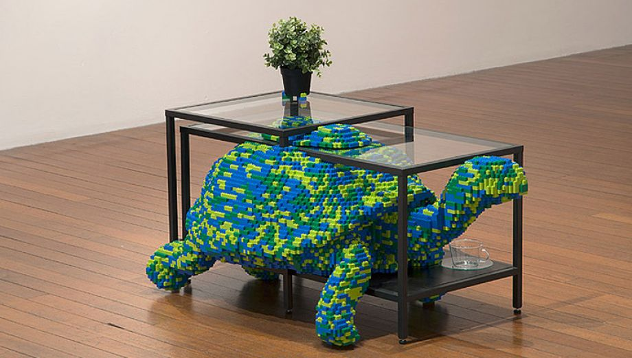 Animales en casa: Artistas sorprenden con esculturas de Lego