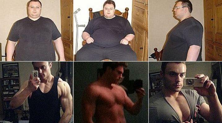 Quiso suicidarse por ser gordo y hoy es un sex symbol