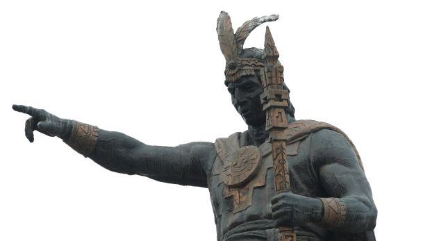 El monumento a Manco Cápac fue polémico desde su instalación hace casi 100 años. (Foto: Richard Hirano/El Comercio - 2009)