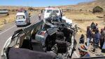 Accidente en Puno: triple choque deja tres muertos y 11 heridos - Noticias de accidentes en carreteras