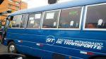 Cústeres pintadas de azul pueden operar en eje Tacna-Arequipa - Noticias de transporte público en lima