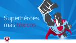 Estos son los 10 superhéroes más peligrosos del Internet - Noticias de la viuda negra