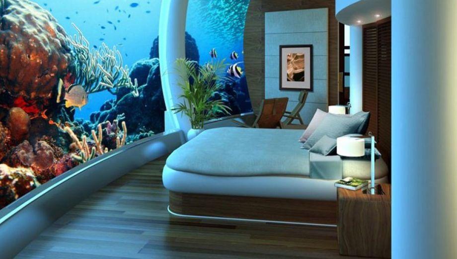 Las insólitas casas que te permiten vivir bajo el mar