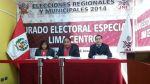 JEE evalúa pedido de exclusión de la candidatura de Villarán - Noticias de elecciones municipales 2014