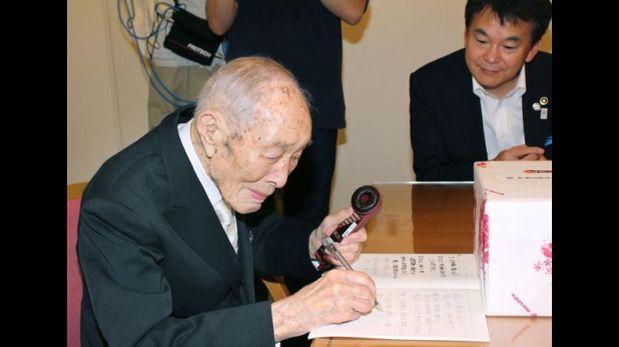Sakari Momoi, 111 años (Foto: Reuters)