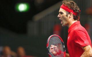 Copa Davis: Roger Federer gana y le da primer punto a Suiza