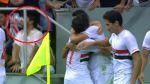 Hincha se golpeó fuertemente el rostro por celebrar un gol así - Noticias de alexandre pato