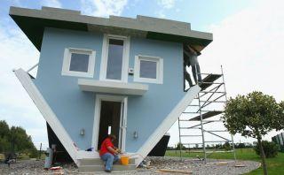 Mira esta vivienda construida al revés en Alemania