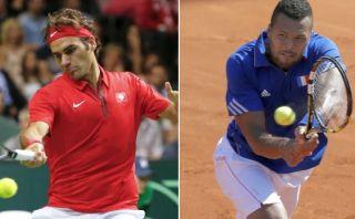 Copa Davis: Suiza y Francia a un paso de la gran final