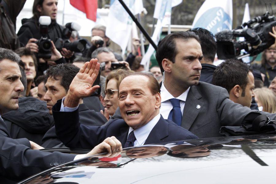Berlusconi compareció ante la justicia en el 2011 por el caso Mediaset (Foto: Reuters)