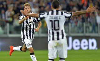 Con gol de Tévez, Juventus le ganó 2-0 a Udinese
