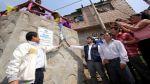 Inauguran cuatro muros de contención en Independencia - Noticias de municipalidad de chosica
