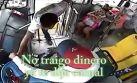 Chofer impide asalto y baja a ladrón a patadas en México