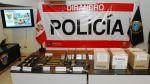 Policía incautó 76 kilos de cocaína en Huancavelica - Noticias de armamento