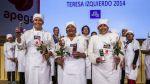 Conoce a las ganadoras del premio Teresa Izquierdo - Noticias de caldo de mote
