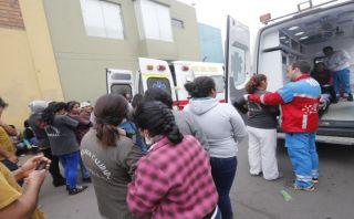 Chorrillos: bomberos controlaron fuga de gas en fábrica textil