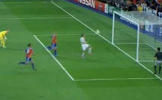 Gareth Bale anotó de 'sombrerito' el segundo del Real Madrid