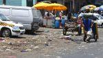 Continúa el desorden y suciedad en ex mercado La Parada [FOTOS] - Noticias de
