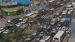 Choque en Av. Javier Prado causó 1 hora de congestión vehicular - Noticias de accidente de bus