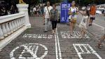 En China hay una vía exclusiva para los adictos al smartphone - Noticias de accidente
