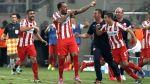 Olympiacos dio el golpe: venció 3-2 al Atlético de Madrid - Noticias de