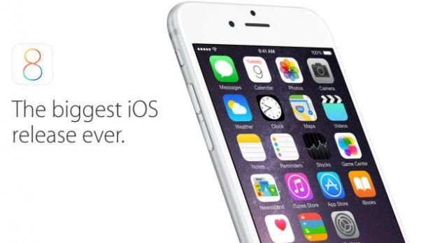 El iOS 8 de Apple se puede descargar desde hoy