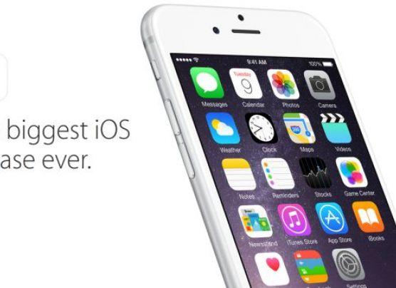 El iOS 8 de Apple ya está disponible para descarga