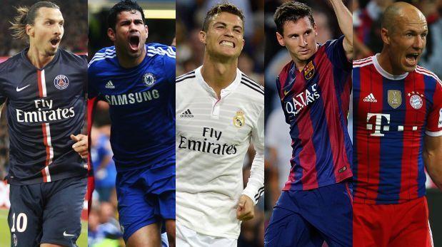 Champions League: tablas de posiciones de los ocho grupos