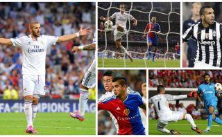 VOTA por el mejor gol del primer día de la Champions League