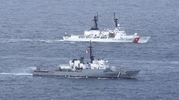 Mar peruano acoge al poderío naval de distintos países [Fotos]