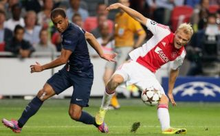 PSG igualó 1-1 ante el Ajax en su debut en la Champions League