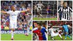 VOTA por el mejor gol del primer día de la Champions League - Noticias de mejor gol