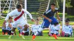 Selección peruana Sub 20 cayó 3-1 ante Argentina en amistoso - Noticias de selección peruana sub 20