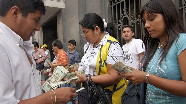 BCR: Tipo de cambio sube a S/ 3,35 por dólar