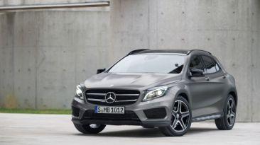 VIDEO: Mercedes-Benz presentó el GLA y su nuevo showroom