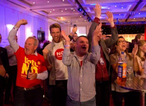 Ganó el No: Escocia seguirá siendo parte del Reino Unido