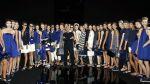 Semana de la Moda de Milán: Armani sigue en el período azul - Noticias de armani milan