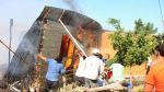 Sullana: fuego consumió 25 casas y dejó cientos de damnificados - Noticias de piura