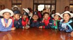 Niños de comunidades andinas y amazónicas visitaron Palacio - Noticias de diario el comercio