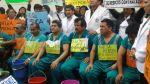 Médicos en huelga realizaron el Ice Bucket Challenge - Noticias de