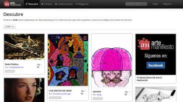 Arte Manifiesto: red social que enlaza a artistas y compradores