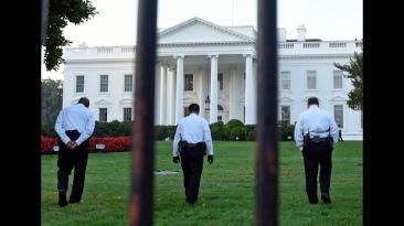 El intruso que puso en ridículo a la Casa Blanca [VIDEO]