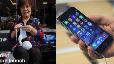 Revendedores y detenidos: el lado B de las colas del iPhone 6