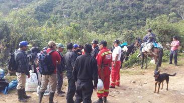 Equipo de alta montaña de Huaraz llegó a la cueva Intimachay
